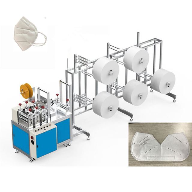 N95 Semi-automatic face mask production line